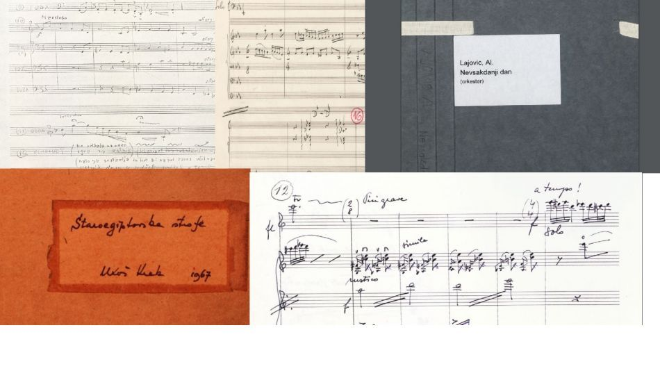 Digitized music scores of the Society of Slovene Composers III