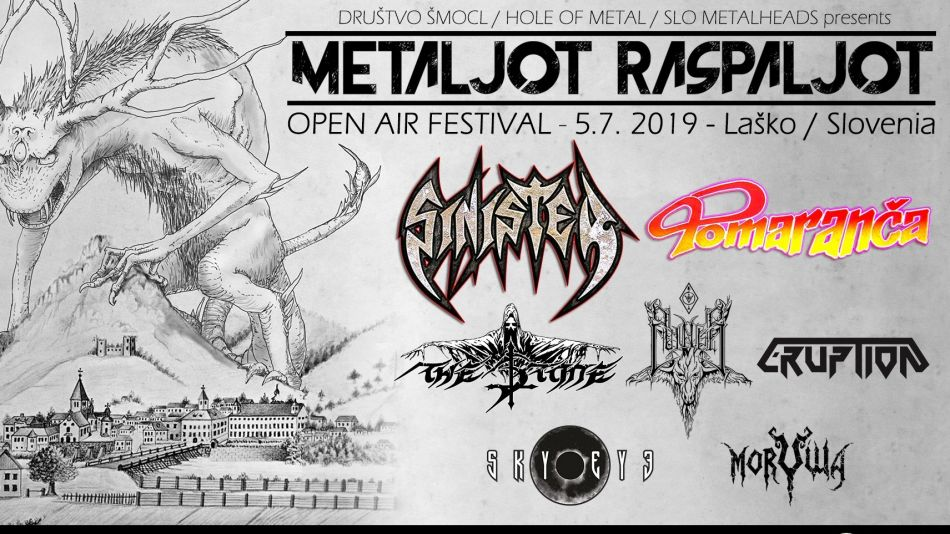 Metaljot Raspaljot - open air festival 2019