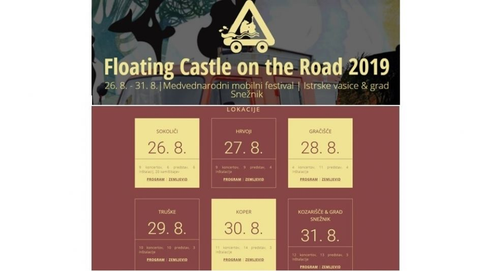 Festival Floating Castle – tokrat On the Road