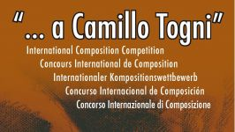 "International Composition Competition ""... a Camillo Togni\"""