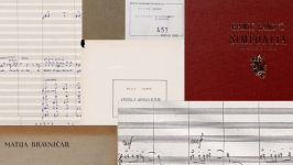 Digitized music scores of the Society of Slovene Composers