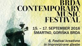 Brda Contemporary Music Festival 2016