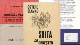 Digitized music scores of the Society of Slovene Composers II