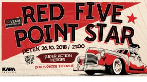 Red Five Point Star - turneja