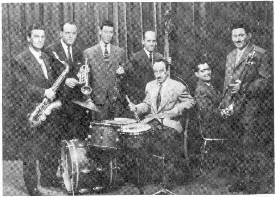 Ljubljanski jazz ansambel l. 1958 (foto: The best of Ljubljanski jazz ansambel)